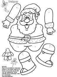 Kerstman Trekpop Knutselpaginanl Knutselen Knutselen En Nog
