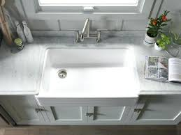 awesome kohler farmhouse sink within 36 designs and ideas for inch cabinet idea 10