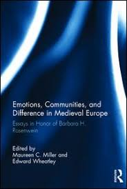 emotions communities and difference in medieval europe essays this book of eleven essays by an international group of scholars in medieval studies honors the work of barbara h rosenwein professor emerita of
