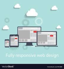 Web Design Resolution Responsive Web Design Icon