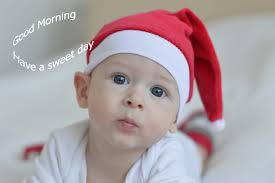 cute good morning baby wallpaper free with message