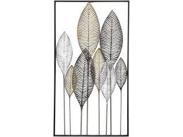 laurem leaf metal wall art