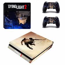 Dying Light Playstation 4 Store Us 8 54 5 Off Ps4 Slim Skin Sticker For Playstation 4 Console And 2 Controllers Ps4 Slim Skin Sticker Decal Vinyl Game Dying Light 2 In Stickers