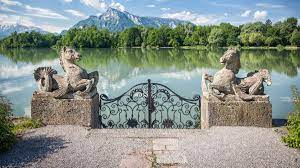 The performance for the song maria was staged in the courtyard of the abbey. Visiting The Places In Salzburg Austria Where They Filmed The Sound Of Music Without A Tour Your Mileage May Vary