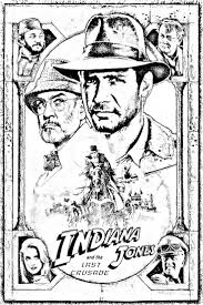 To print this free coloring page «coloring movie indiana jones derniere