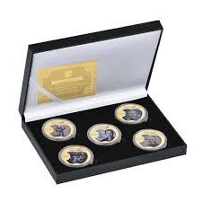 WR <b>10pcs</b> Princess of Wales Diana <b>Gold Plated</b> Coin Collectible ...
