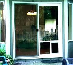 pet door for glass door door with dog door screen door with dog door built in pet door for glass