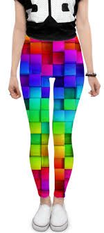 <b>Леггинсы Colorful</b> #1614201 – заказать <b>леггинсы</b> с принтами в ...