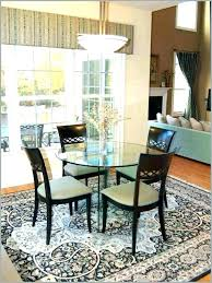 standard area rug sizes for dining room 5 foot round rug dining room carpet size 5