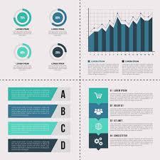 Simple Info Graphics Simple Infographics Elements Vector Premium Download