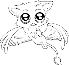 Owl Coloring Pages Cute Owl Colori Pages Baby Animal Book Pages Cute