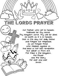 Know about the color milestones, challenges and color activities for your toddlers. The Lord S Prayer Coloring Page Activity Sheet By The Creative Kinders