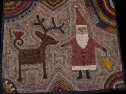 hooked rug patterns primitive