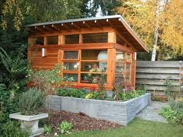 tiny backyard home office. the sunset garden studio an accidental tiny home office backyard