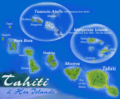 tahiti and her islands, south pacific travel dreaming of a beach Where Is Tahiti On The Map tahiti and her islands, south pacific tahiti on map