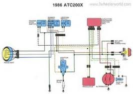 similiar atc 200x wiring diagram keywords honda rebel 250 wiring diagram as well 1985 honda goldwing carburetor