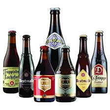 8 pack of mixed case belgian trappist craft beer gift set selection amazon co uk beer wine spirits