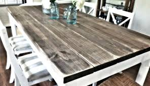 full size of how to build farmhouse dining table with leaves rustic diy top style decor