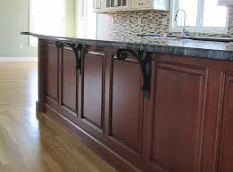 cabinet supported countertop