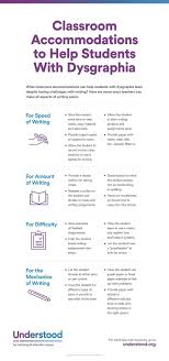 best dysgraphia and writing issues images at a glance classroom accommodations for dysgraphia