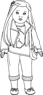Cute Girl Coloring Pages Capricus Me