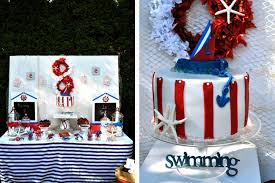 1st birthday ideas pinterest. a nautical theme allows you to make use of red, white and blue decor. 1st birthday ideas pinterest i