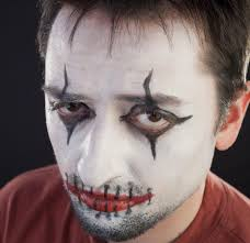 face painting ideas for beginners scary mime