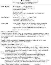 Free Medical Cv Template Pdf 19kb 2 Page S