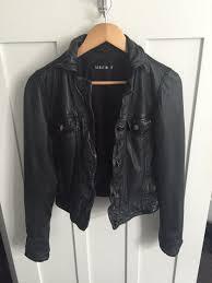sabatini leather jacket