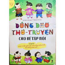 Sách - Đồng Dao Thơ - Truyện cho bé tập nói - Sách hay mỗi ngày