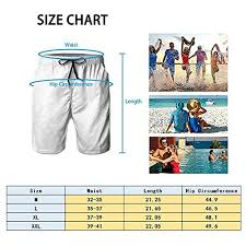 Rubber Duck Size Chart Yongcoler Mens Beach Shorts Swim Trunks Quick Dry Bathing Suit Funny Rubber Duck