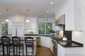 white fridge in kitchen. traditional white kitchen fridge in i