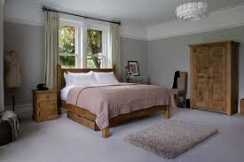 Plank Bedroom Furniture The Georgian Panel Plank Bed No Footend By Indigo Furniture