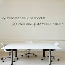 wall decal for office. wake up work hard at your dreams motivational quotes wall sticker diy decorative inspirational quote decal for office s