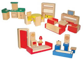 cheap wooden dollhouse furniture. Wooden Doll House Furniture \u2013 26 Pieces - Houses \u0026 Families Cheap Dollhouse F