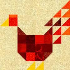 Patchwork Chicken Quilt Block Pattern & About the Patchwork Chicken Quilt Block Adamdwight.com