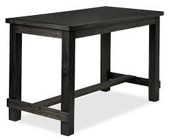 Jackson 4-Piece Pub-Height Dinette Set - Dark Grey and Cream | Leon's
