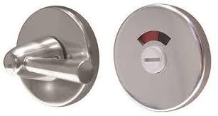 disabled bathroom door lock. disabled turn and release aluminium with indicator bathroom door lock
