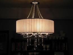 drum chandelier home depot