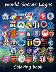 Small Picture Amazoncom Soccer Logos 2017 Super coloring book which includes