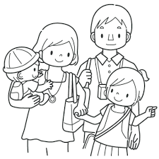 Precious Moments Family Coloring Pages Printable To Humorous Best