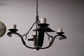 spanish wrought iron chandeliers an old wrought iron 4 light chandelier from wrought iron chandelier spanish