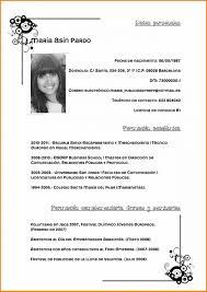 Curriculum Vitae For Jobs Apply Filename Pdf Espantildeol