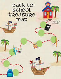 Design A Treasure Map Activity Back To School Treasure Map Your Everyday Family