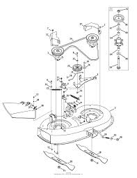 mtd 13ac76lf031 lt3800 2011 parts diagram for mower deck zoom