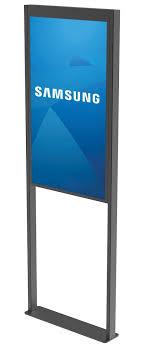 Floor Window <b>Display</b> Mount for Samsung OM55N-D <b>Double</b>-<b>Sided</b> ...