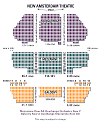 Aladdin Tickets Seating Chart Broadway New York Musical