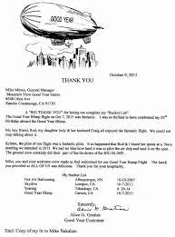 Alice Gratias S Thank You Letter Mountain View Tire