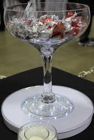 Oversized Champagne Glass, Photo