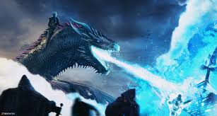 White Walker And Dragon Breaching The ...